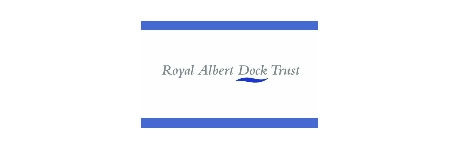 Royal Albert Dock Trust Logo