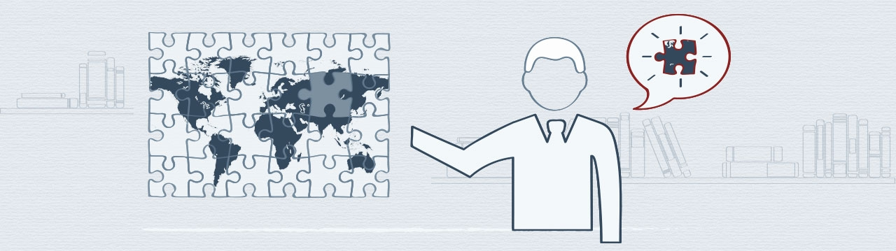 The inter nation business jigsaw puzzle